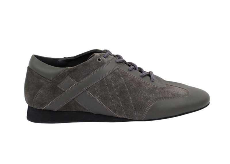 Zapato de baile- DAMA SHOES- Bosa Grey Leather & Suede