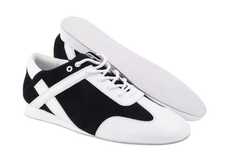Zapato de baile -DAMA SHOES - Bosa Black Suede & Leather