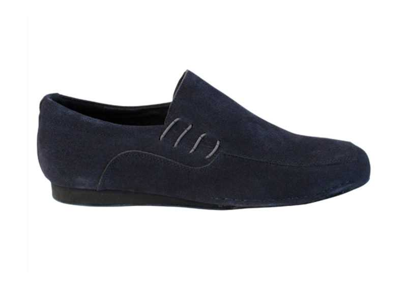 Zapato de baile- DAMA SHOES -Son Blue Navy Suede