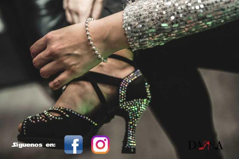 Zapato de baile-Dama Shoes-Evento colección Crystal