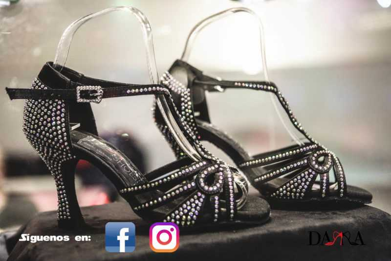 Zapato de baile-Dama Shoes-Evento colección Crystal