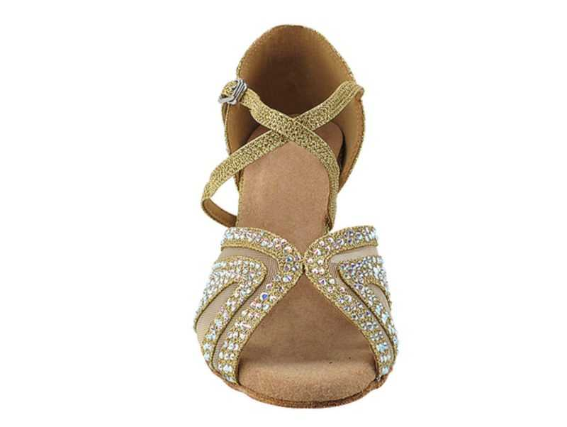 Zapato de baile -DAMA SHOES-Briolette Gold Gl