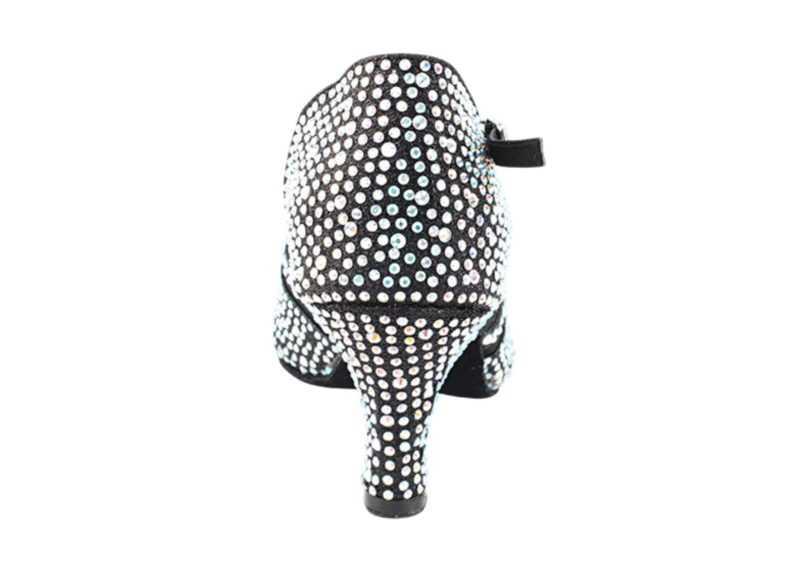 Zapato de baile -DAMA SHOES-Briolette Black Gl