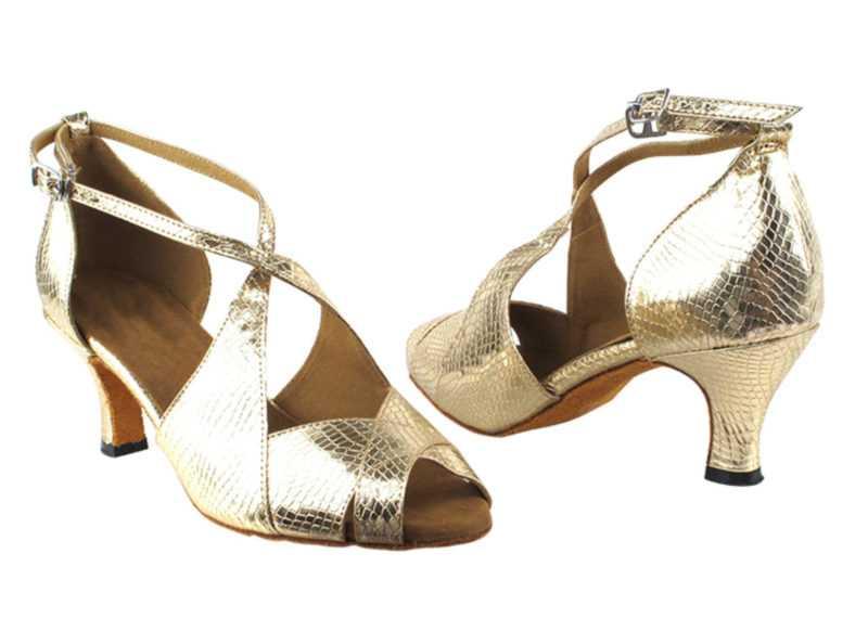 Zapato de baile -DAMA SHOES-Indigo Gold Sna