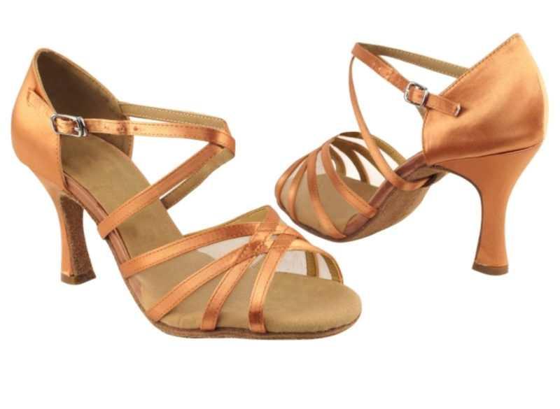 Zapato de baile -DAMA SHOES-Jael Tan Satin