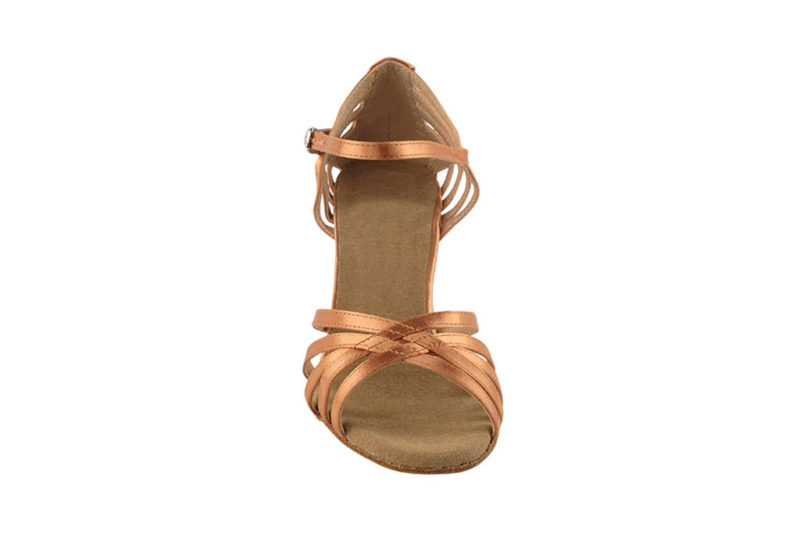 Zapato de baile -DAMA SHOES- Aura Tan Satin