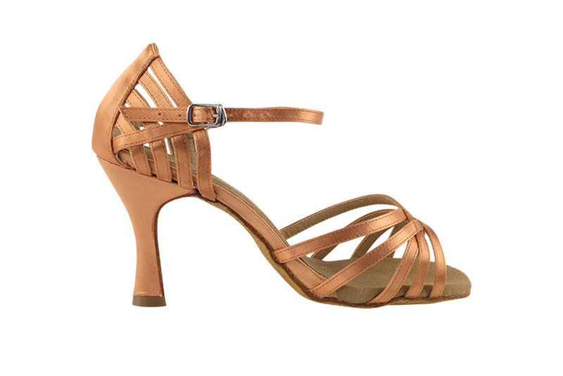 Zapato de baile- DAMA SHOES - Aura Tan Satin