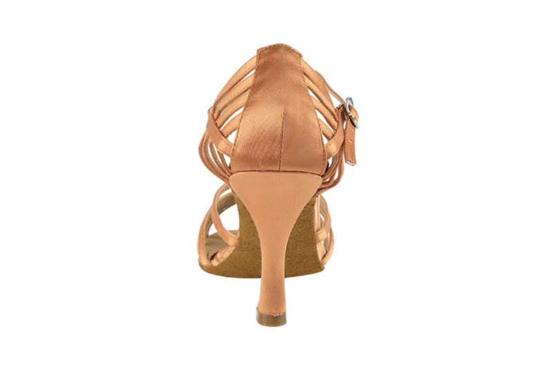 Zapato de baile-DAMA SHOES - Aura Tan Satin