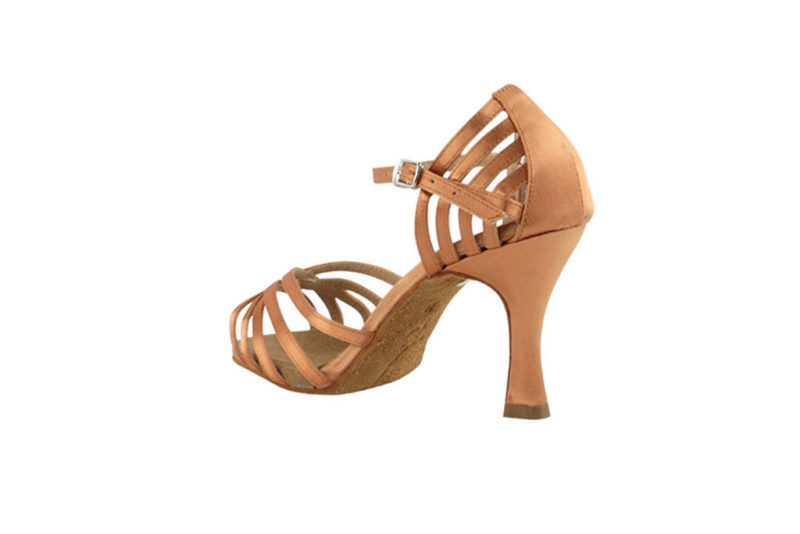 Zapato de baile- DAMA SHOES- Aura Tan Satin