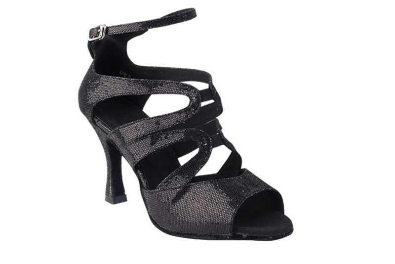 Zapato de baile - DAMA SHOES - Chelsea Black Scale