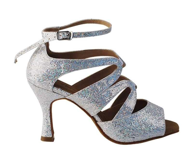 Zapato de baile - DAMA SHOES - Chelsea Silver Scale