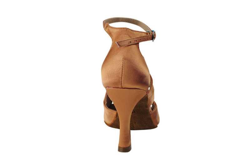 Zapato de baile - DAMA SHOES - Chelsea Tan Satin