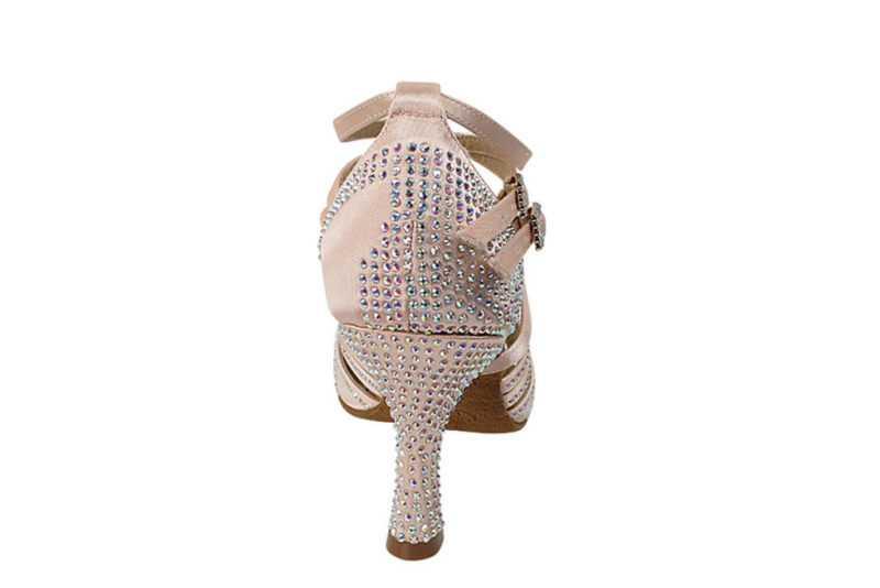 Zapato de baile- DAMA SHOES - Cornalina Flesh Satin