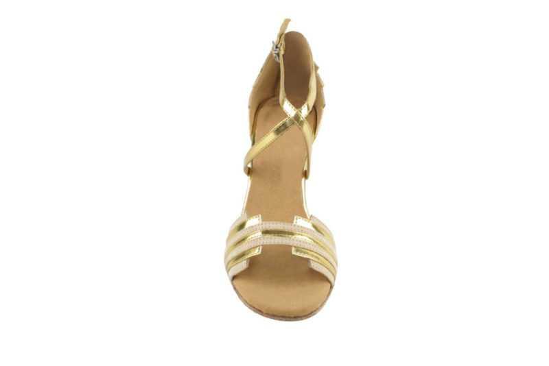 Zapato de baile - DAMA SHOES - Cosmic Beige & Gold