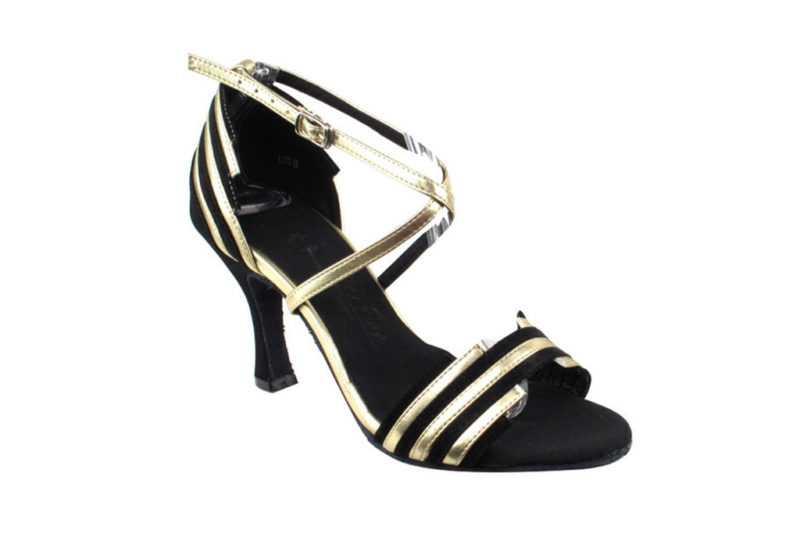 Zapato de baile - DAAMA SHOES - Cosmic Black & Gold