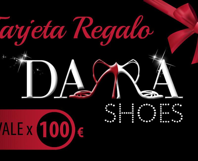 Zapato de baile-Dama Shoes-Tarjeta regalo