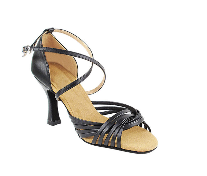 Zapato de baile-DAMA SHOES- Gany Black Leather