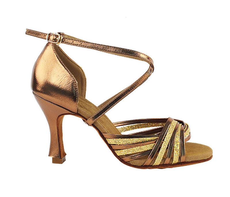 Zapato de baile- DAMA SHOES- Gany Gold Scale