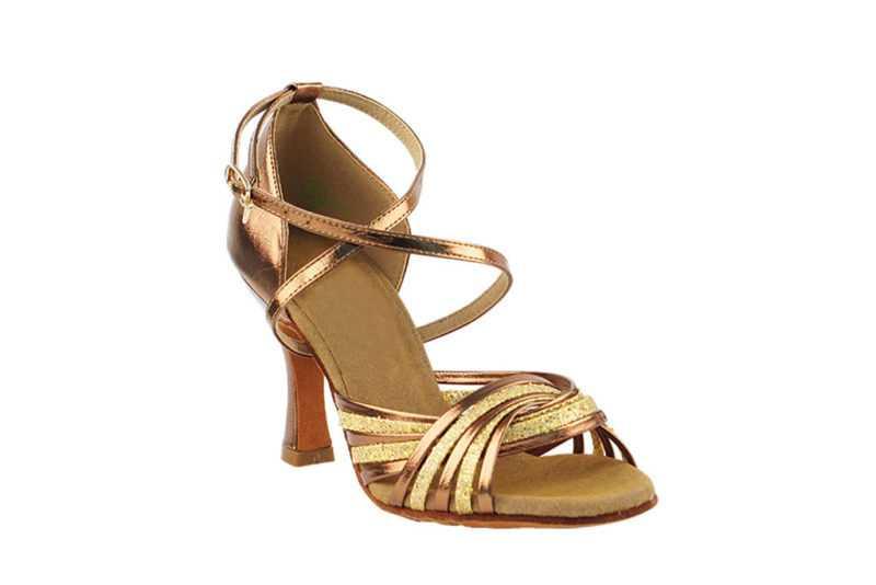 Zapato de baile - DAMA SHOES- Gany Gold Scale