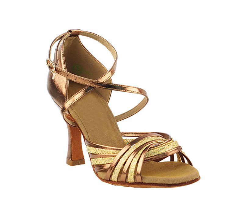 Zapato de baile - DAMA SHOES- Gany Gold Scale