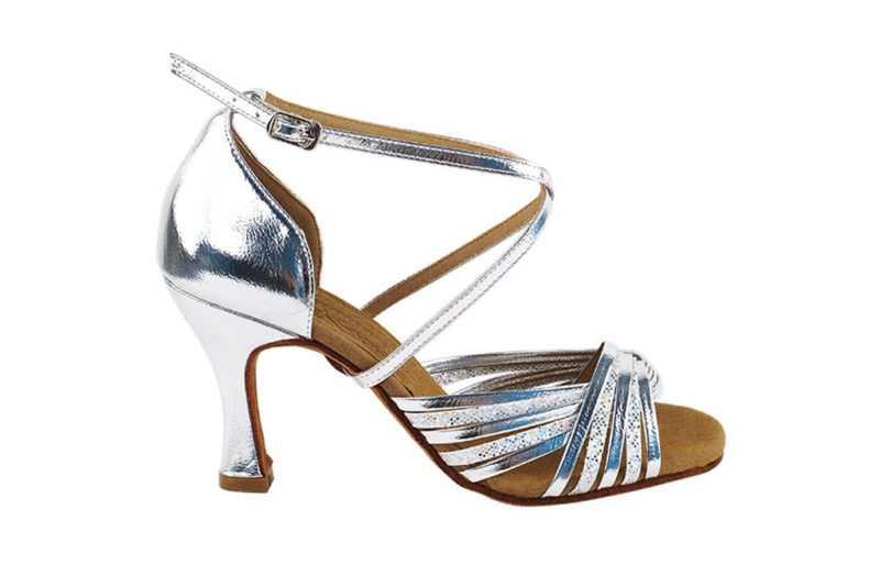 Zapato de baile - DAMA SHOES- Gany Silver Scale