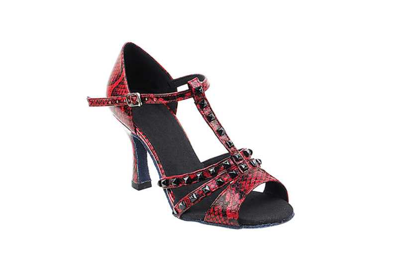 Zapato de baile - DAMA SHOES - Janis Red Snake