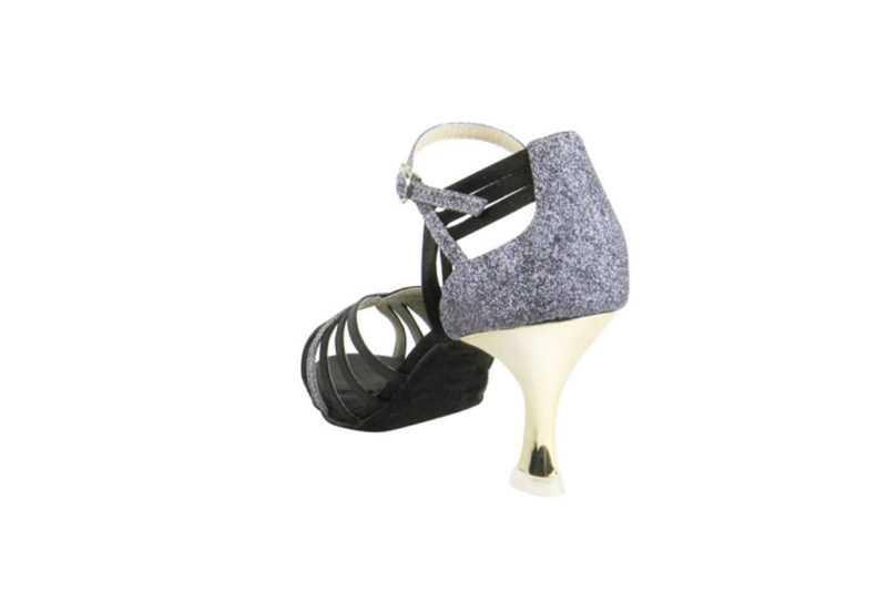 Zapato de baile- DAMA SHOES- Piper Black Satin