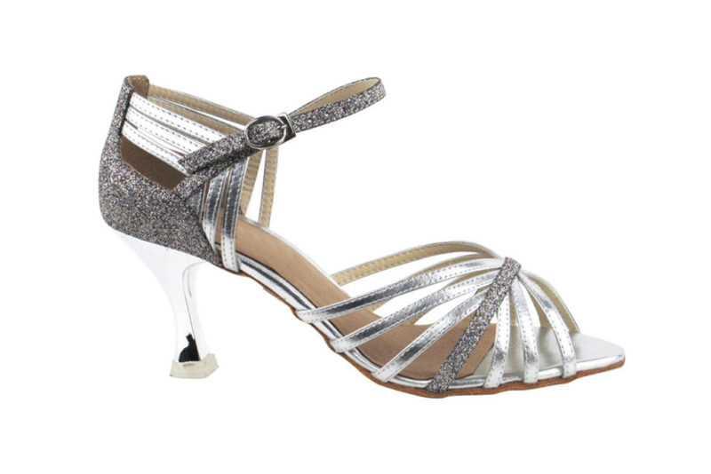 Zapato de baile - DAMA SHOES- Piper Silver