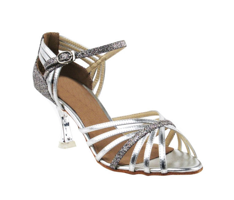 Zapato de baile - DAMA SHOES- Piper Silver