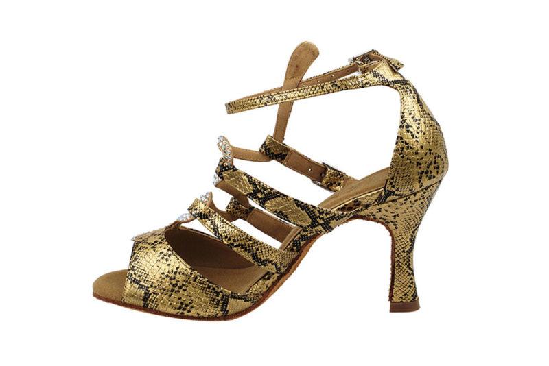 Zapato de baile - DAMA SHOES - Stephanie Gold Snake