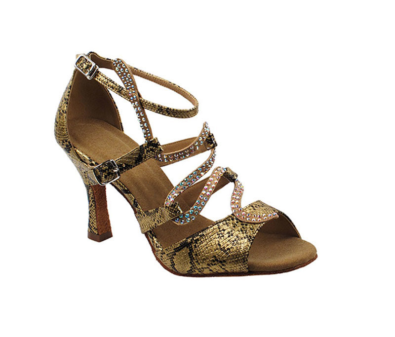 Zapato de baile - DAMA SHOES - Stephanie Gold Snake