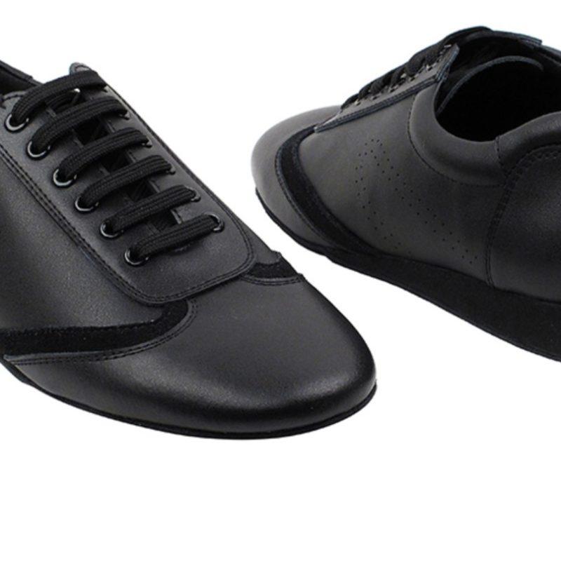 Zapato de baile- DAMA SHOES- Bosa Black Leather