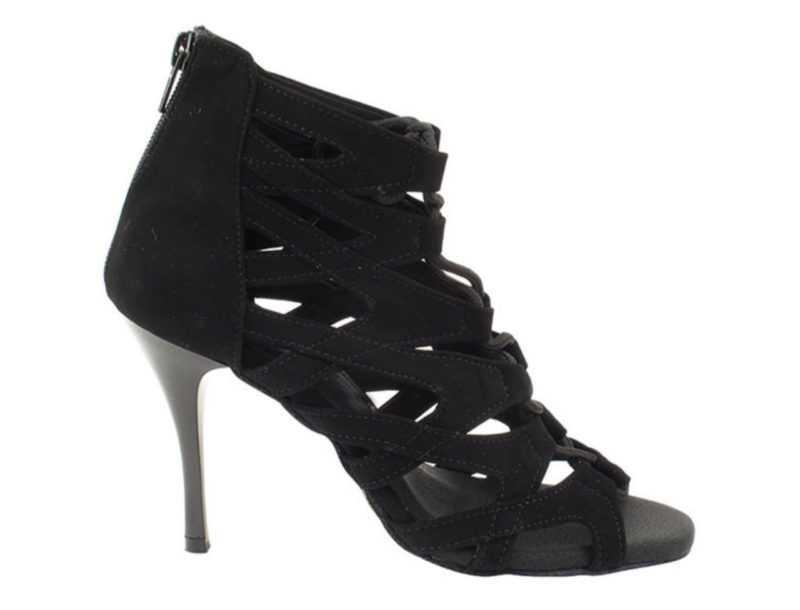 Zapato de baile -DAMA SHOES-Indiana Black Suede