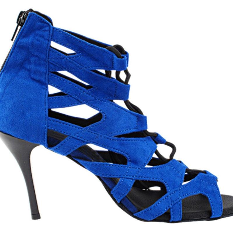 Zapato de baile -DAMA SHOES-Indiana Blue Suede