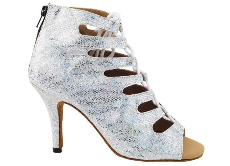 Zapato de baile -DAMA SHOES-Maryland Silver Scale