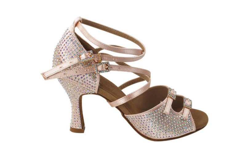 Zapato de baile- DAMA SHOES - Turmalina Flesh Satin
